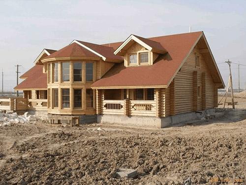 �湖防腐木房屋